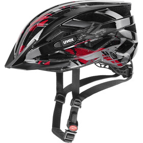 UVEX Air Wing Helm Kinder black red
